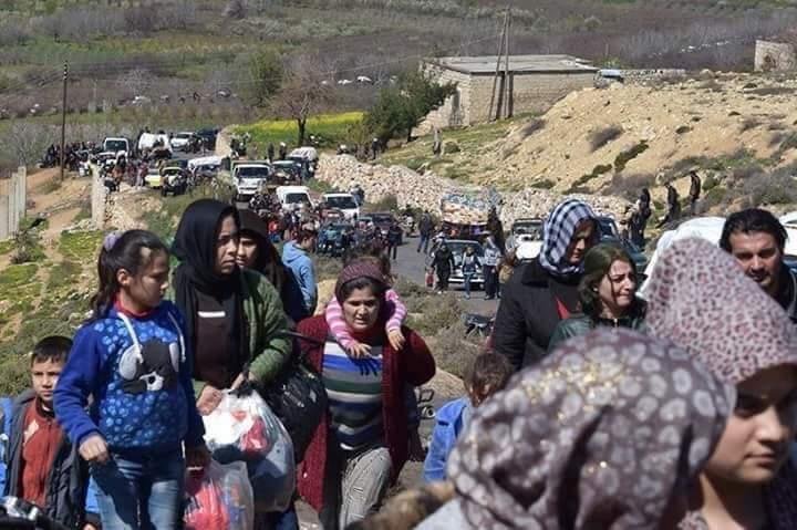 آلاف النازحين في الشمال السوري وقلق من تغيير ديمغرافي
