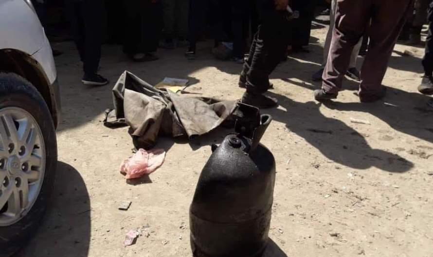 سبعة قتلى بانفجار جرة غاز في سوق صناعي بالرقة