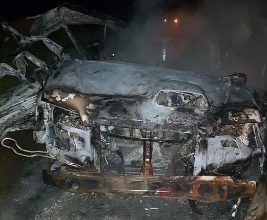 إصابات في انفجار لغم استهدف سيارة أمنية قرب منطقة رأس العين الحدودية مع تركيا