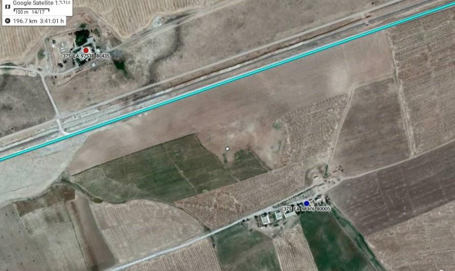 القوات التركية تستهدف نقاط مراقبة حدودية لقوات سوريا الديمقراطية شرق الفرات