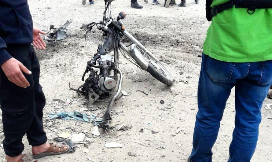 أصابة رجل أمن ومقتل منفذ الهجوم على حاجز بدراجة مفخخة في ريف ديرالزور
