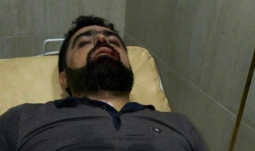 إصابات في اشتباكات داخل مخيم في ريف حلب