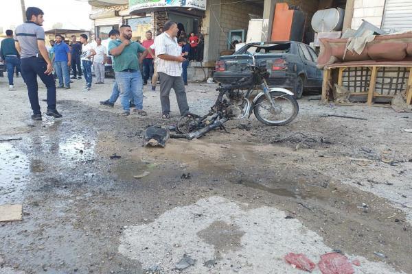 انفجار دراجة نارية مفخخة في الحسكة