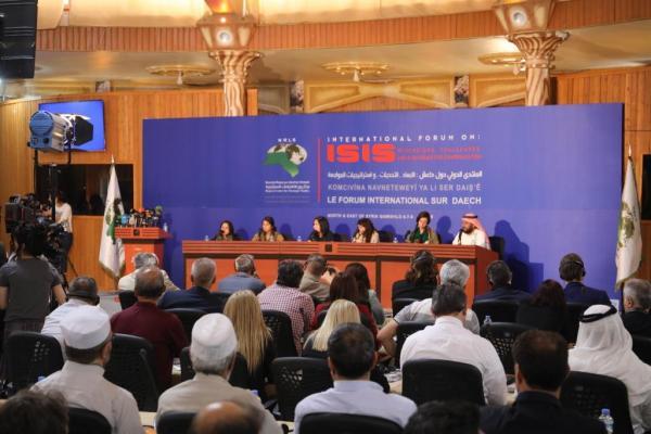 """""""المنتدى الدولي حول داعش"""" يطالب بإنشاء محكمة دولية في شمال وشرق سوريا لمقاضاة أفراد تنظيم داعش المعتقلين"""