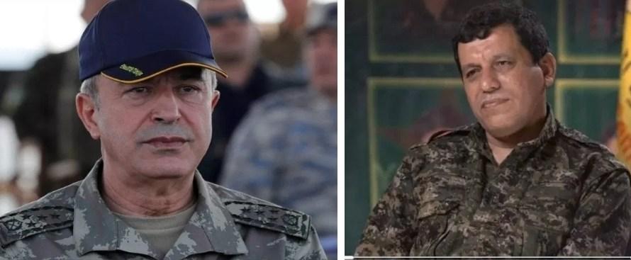 وزير الدفاع التركي يهدد بإنهاء الاتفاق مع أمريكا حول المنطقة الآمنة