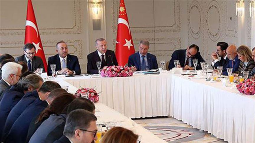 مع قرب الاعلان عن عقوبات أمريكية وأوربية…أردوغان يتوعد بعملية عسكرية في تل أبيض وتلرفعت