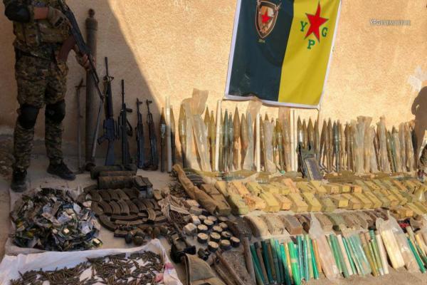 عمليات أمنية مشتركة شرق سوريا على الحدود بين قوات سوريا الديمقراطية والحكومة العراقية
