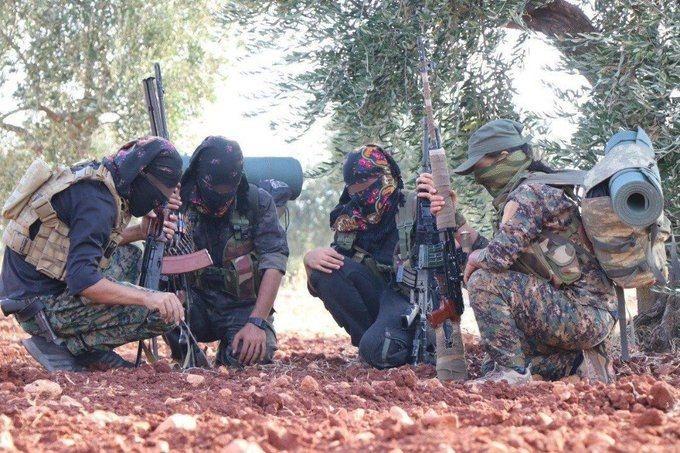 تجدد الاشتباكات بين القوات الكردية والتركية بريف حلب