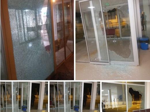 جرحى وعمليات تخريب في اقتحام مسلحين لمشفى في مدينة الباب شرقي حلب