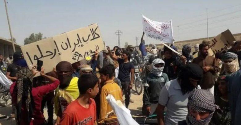 لليوم الرابع تظاهرات مطالبة بطرد إيران والنظام من بلدات في ديرالزور