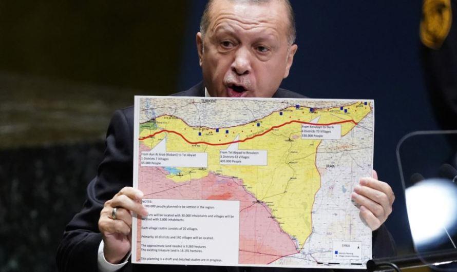 أردوغان يطلب 27 مليار دولار..لاقامة مستوطنات في شمال سوريا بذريعة المنطقة الآمنة