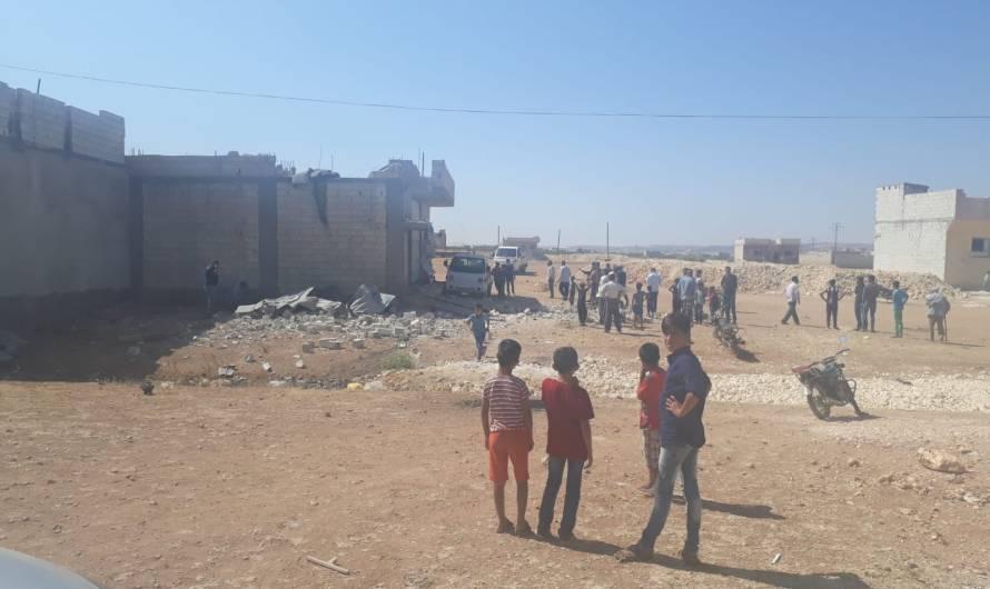 أضرار مادية في انفجار لغم في مدينة كوباني