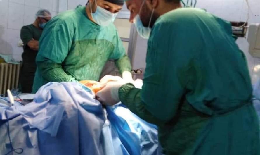 طبيب مبايع لداعش يظهر بمشفى في عفرين