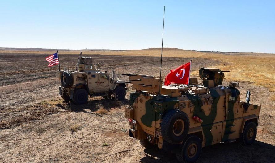 رغم التهديد بايقافها..تركيا تسيير الدورية البرية الثالثة المشتركة مع أمريكا شرق الفرات