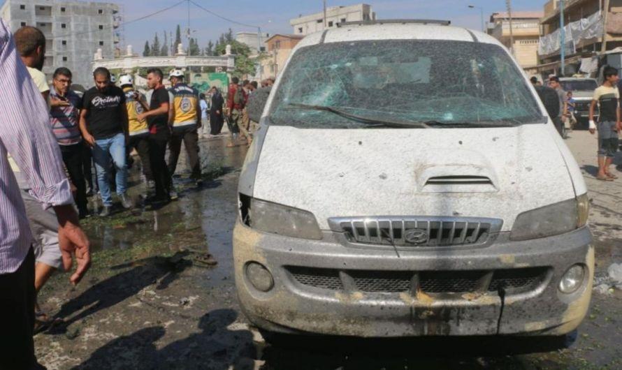 20 مصاباً في سلسلة تفجيرات في المناطق الخاضعة لتركيا شمال سوريا