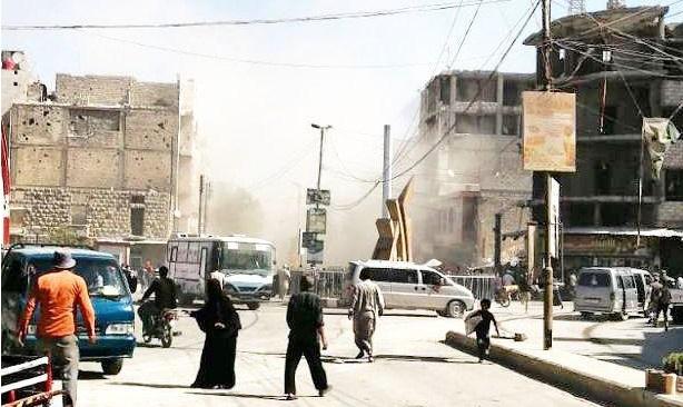 إصابات في انفجار بمدينة الباب الخاضعة لسيطرة تركيا شرقي حلب