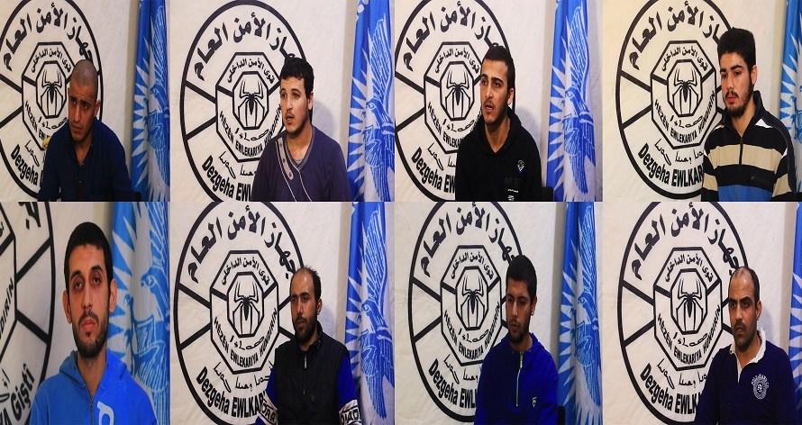 اعتقال 14 إرهابيا بينهم 3 نساء يشكلون خلية نائمة لداعش في الرقة على صلة بتركيا