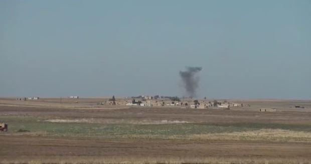 استشهاد مدنيين أثنين في قصف تركي استهدف قرية شرقي كوباني