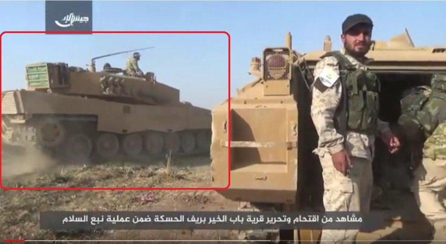 بعد عفرين…الدبابات الألمانية تواصل قتل الأكراد في الهجوم التركي شرق الفرات