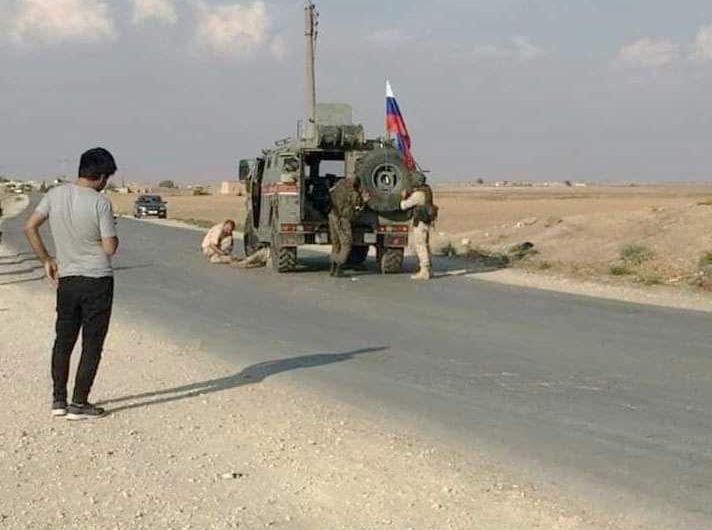 إصابة 3 جنود روس في انفجار عبوة ناسفة بدوريتهم شرقي كوباني