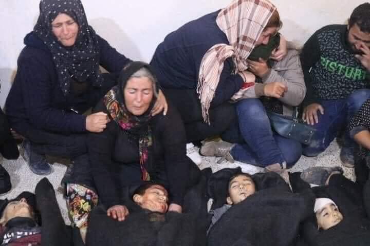 مقتل 10 أشخاص على الأقل في قصف مدفعي نفذته القوات التركية على تل رفعت