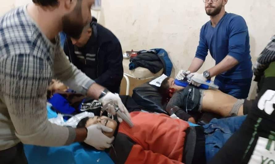 القوات التركية تقتل 8 أطفال ورجلين مسنين بقصف مدفعي على بلدة تل رفعت