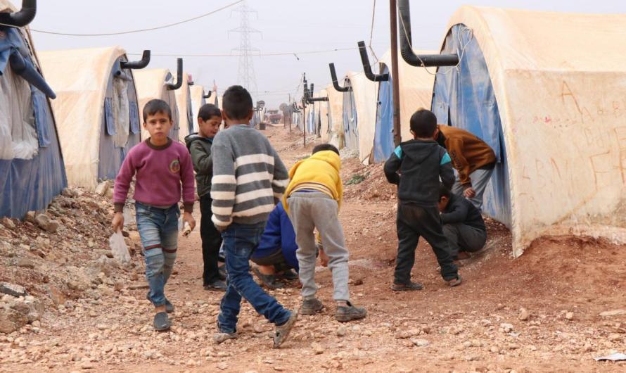 إصابة 3 أطفال في انفجار لغم أرضي من مخلفات الحرب في ريف حلب