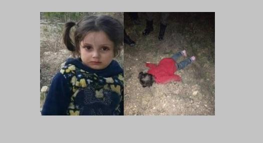 العثور على طفلة ميتة من البرد في عفرين