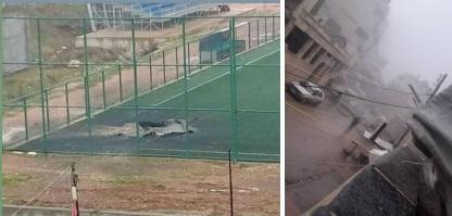 قتيلان وثلاث جرحى جراء سقوط قذائف وسط مدينة عفرين