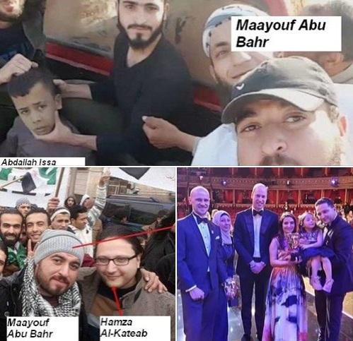 """جدل حول ظهوره مع ملك بريطانيا المُستقبلي… بعد صورة له مع """"ذباح الأطفال"""" في حلب قبل 4 سنوات"""