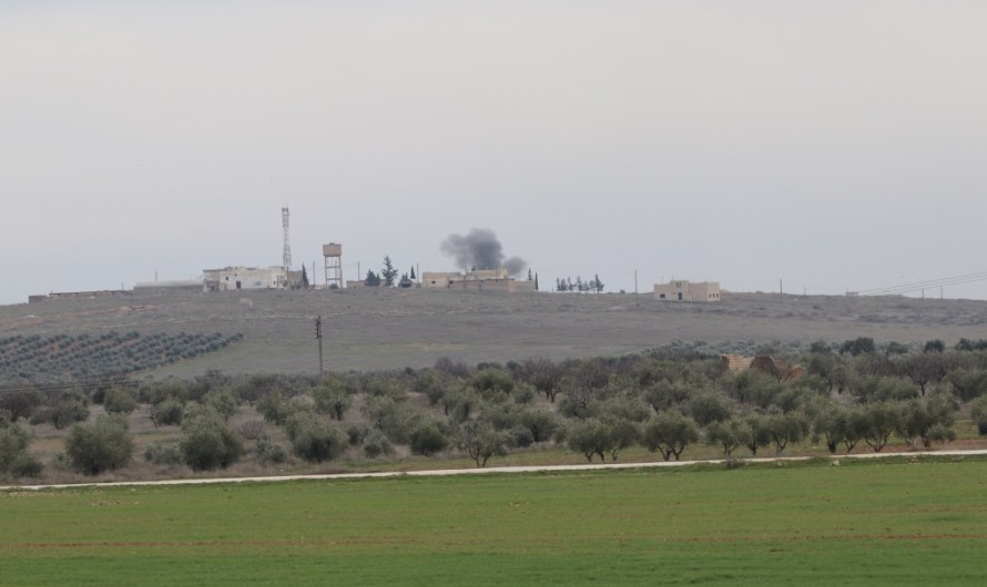 قتلى وجرحى في قصف تركي استهدف قرى بريف حلب