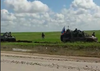 مقتل جندي روسي ننيجة انفجار لغم شمال غرب محافظة الحسكة على الحدود التركية السورية