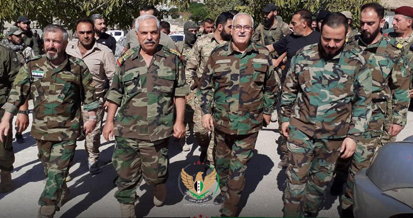 اقتتال مسلح بين عناصر من فصيلين موالين لتركيا في مدينة عفرين شمال حلب