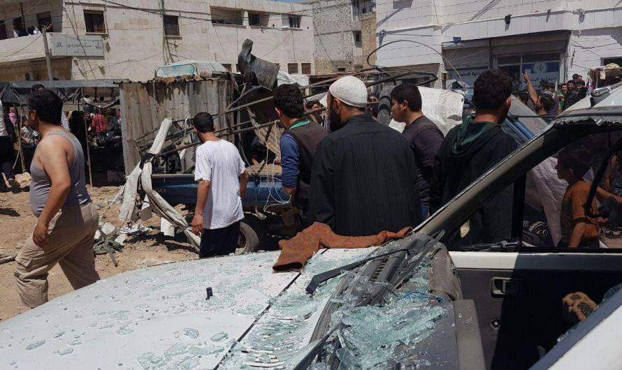 انفجار في مدينة الباب الخاضعة لسيطرة فصائل موالية لأنقرة بريف حلب