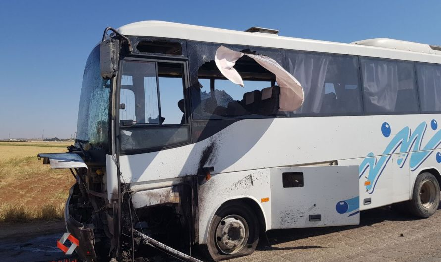 انفجار يستهدف حافلة تقل مسلحين موالين لتركيا قرب مدينة اعزاز