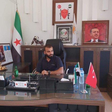 قائد فصيل العمشات محمد الجاسم