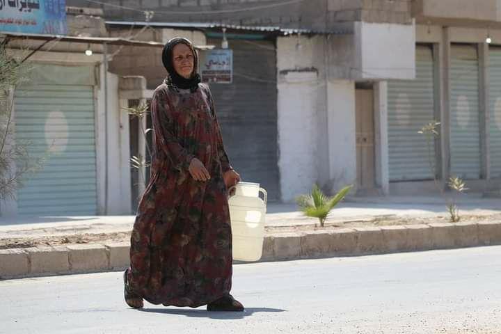 89 منظمة تندد بتكرار قطع تركيا للمياه عن مئات الآلاف من السكان في شمال شرق سوريا