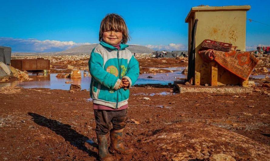 قرابة 2 مليون طفل يواجهون الموت في شمال سوريا