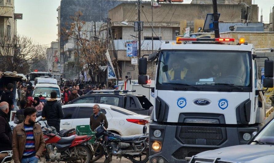 ضحايا في انفجار سيارة مفخخة بالقرب من المركز الثقافي في مدينة اعزاز بريف حلب