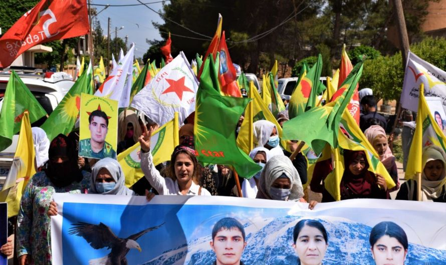 شاهد: احتفالات واحتجاجات واعتقالات بمناسبة إحياء اليوم العالمي للعمال في شمال سوريا