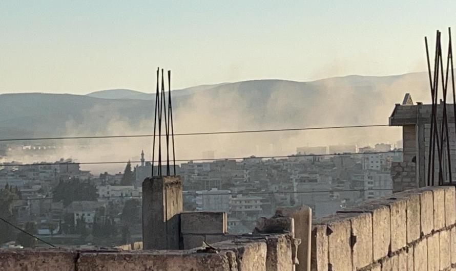 عشرات القتلى والمصابين في قصف صاروخي استهدف مدينة عفرين