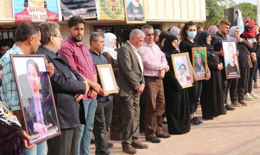 حزب سوريا المستقبل يطالب بمحاسبة قتلة أمينته العامة هفرين خلف ومرافقيها .. ويتهم تركيا بالجريمة