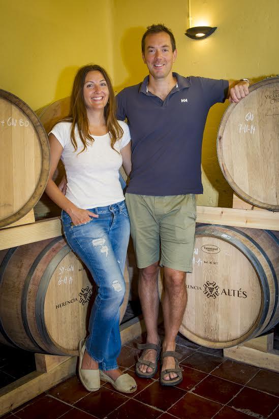 boegas terra alta Nuría Altés Abanico Wines