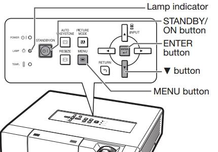 Купить лампу AN-K15LP для проекторов Sharp XV-Z15000