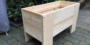 Plantenbak van beton maken  Voor de makers