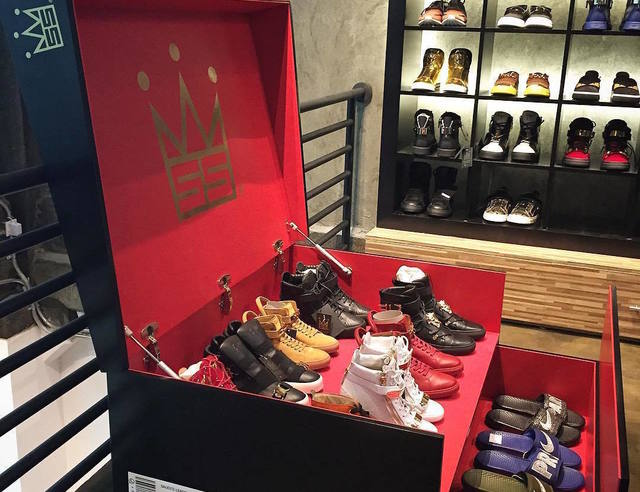 realisez une boite a chaussures xxl