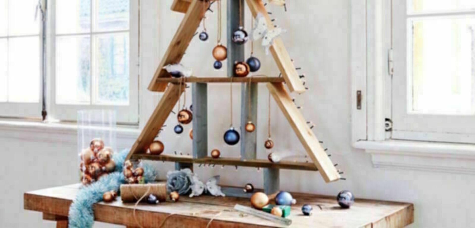 Houten kerstboom maken  voordemakersnl