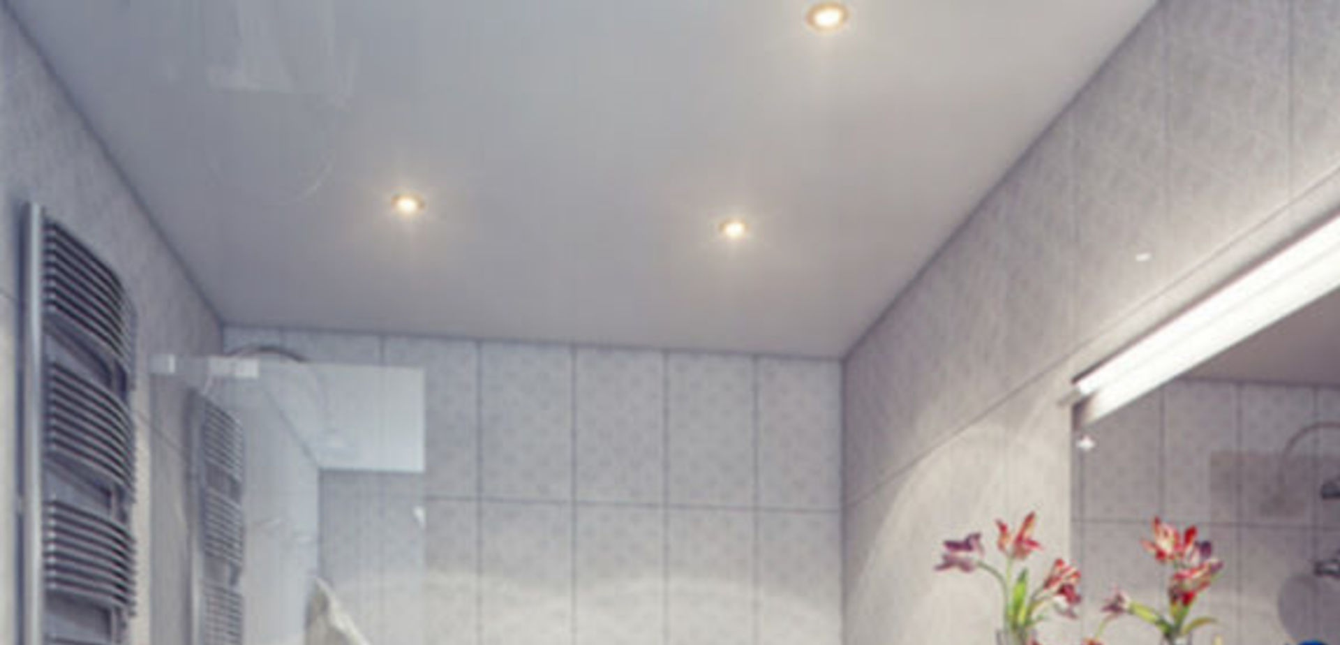 Moderne badkamer met strak design  voordemakersnl
