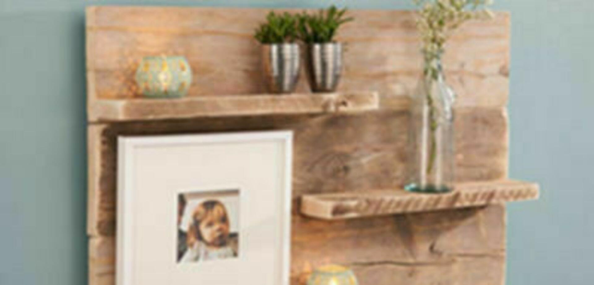 Wandpaneel van steigerhout  voordemakersnl