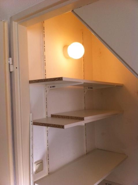 opbergruimte in de kelderkast maken  voordemakersnl